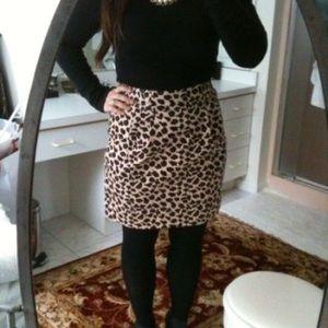Marc Jacobs leopard mini skirt 🐆